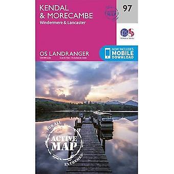 Kendal & Morecambe (OS Landranger mapę)