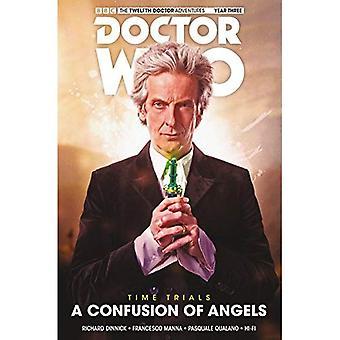 Doctor Who: Tolfte doktorn - tid prövningar volym 3: en sammanblandning av änglar HC (Doctor Who: tolfte doktorn - Time Trials)