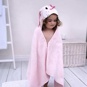Freckle Bunny toddler towel