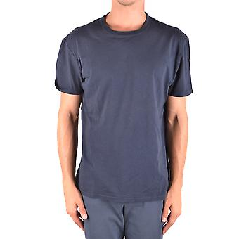 Paolo Pecora Ezbc059048 Men's Blue Cotton T-shirt
