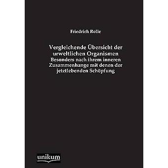 Vergleichende bersicht der urweltlichen Organismen de Rolle & Friedrich