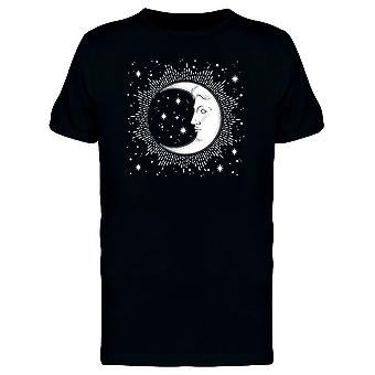 Crescent Moon And Stars Tee Men's -Image by Shutterstock