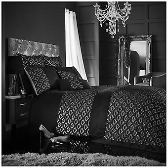 Tessella geborduurd Sparkly Sequin Fancy moderne dekbed Dekbedovertrek beddengoed Set