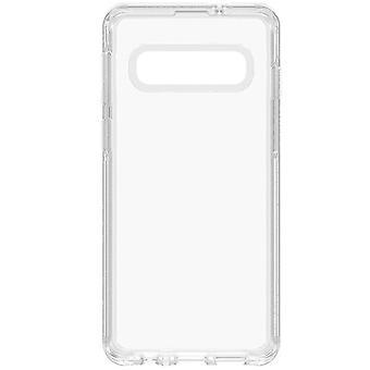 Symétrie claire d'OtterBox Galaxy Samsung S10 clair