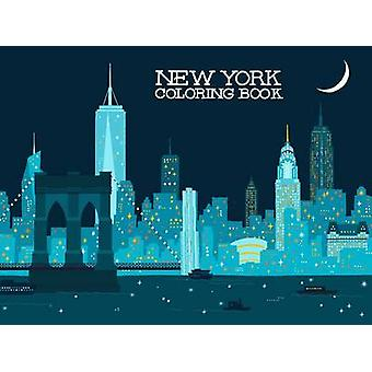 New York Coloring Book by Min Heo - 9781623260514 Book