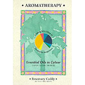 Aromatherapy - Essential Oils in Colour by Rosemary Caddy - 9781899308