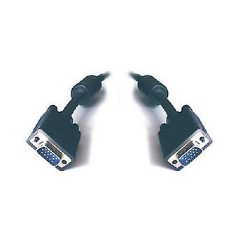 VGA مراقبة كابل HD15M-HD15M مع تصفية UL المعتمدة