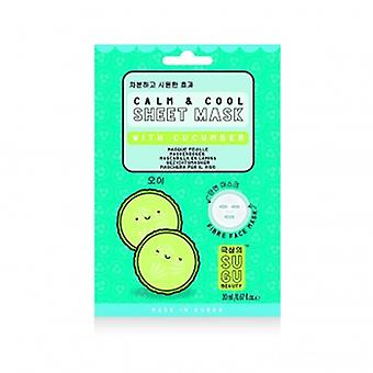 NPW Calm Cool Sheet Mask With Cucumber