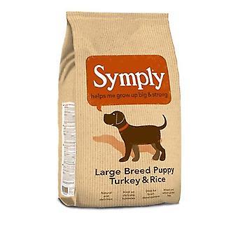 Alimentos Symply gran raza cachorro perro seco - 2Kg bolsa