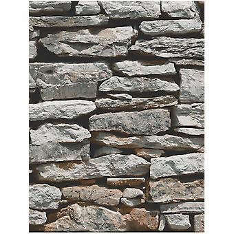Marocká zeď přírodní břidlice kamenná Tapeta 623000