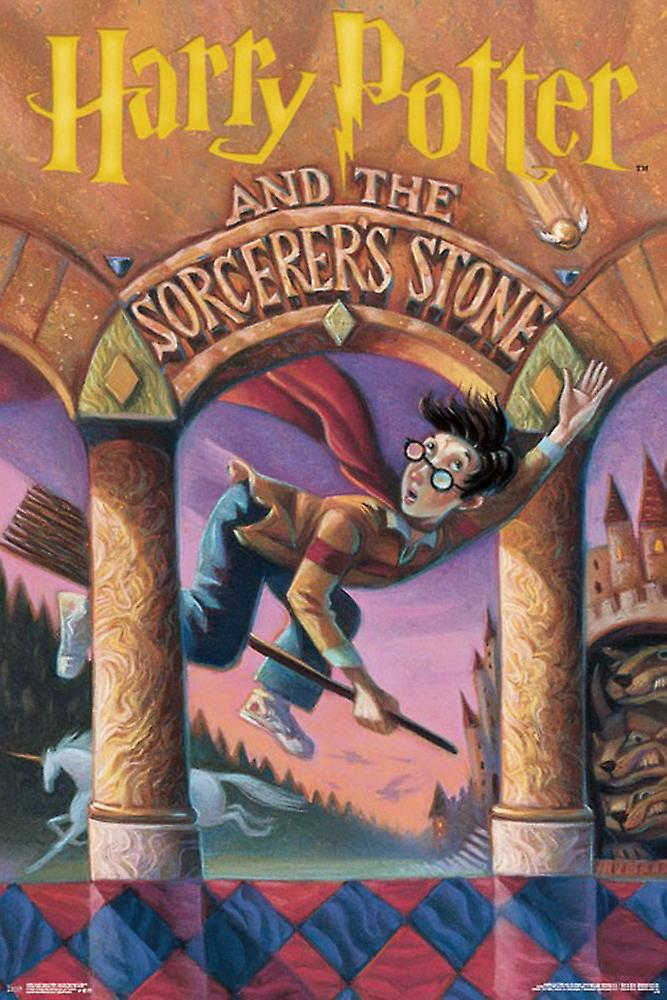 Poster-Studio B-Harry Potter-Sorcerer s steen 36 x 24