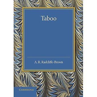 Tabu: Die Frazer Vortrag 1939