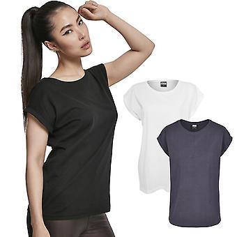 Urban Classics damer-økologisk forlænget skulder lang skjorte