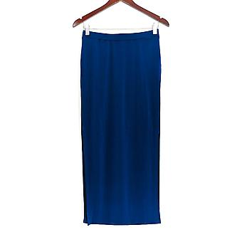 G.I.L.I. l'a eu l'amour il jupe Matte Jersey Pull-On Maxi Jupe Blue A266066