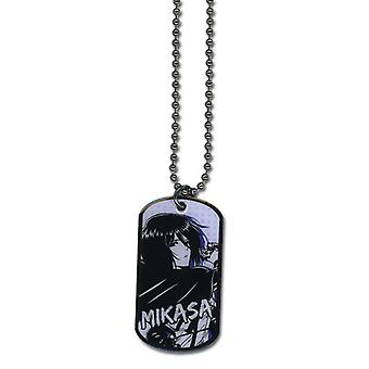 Necklace - Attack on Titan - New Mikasa Dogtag Toys Anime Licensed ge36270