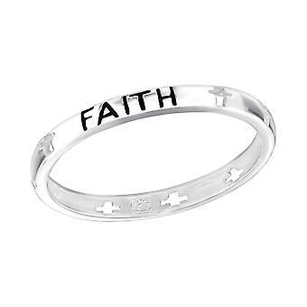 Credință - 925 Sterling Inele de argint Câmpia - W3857x