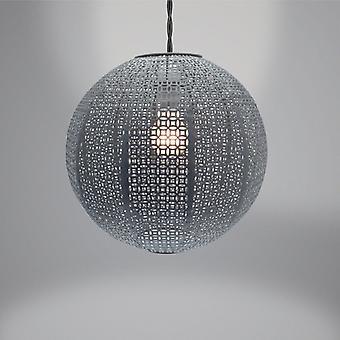Country Club Metal Light Shade, Nouveau Cadiz Ball Grey