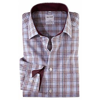 OLYMP Olymp Check Formal Shirt