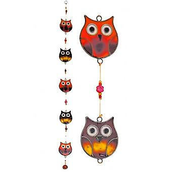 Eule Suncatcher String Mobile
