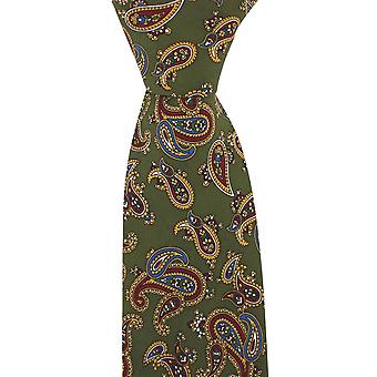 David Van Hagen Vintage Tie  - Green