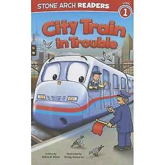 Tren de la ciudad en problemas
