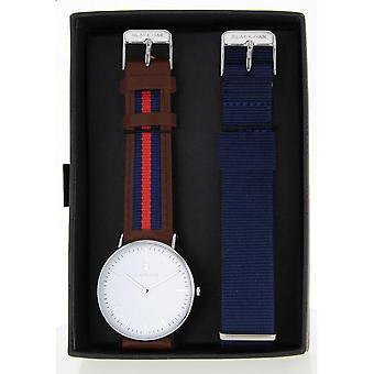 Black Oak BX5890RSET-133 - watch leather Blue Man