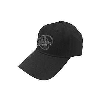 Thin Lizzy Baseball Cap Scroll Band Logo new Official Black Strapback