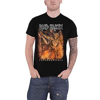 Iced Earth T Shirt Incorruptible Band Logo Metal new Official Mens Black