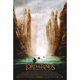 The Lord Of The Rings Fellowship Of The Ring Poster Double Sided Regular (Style B) (2001) Original Cinema Poster