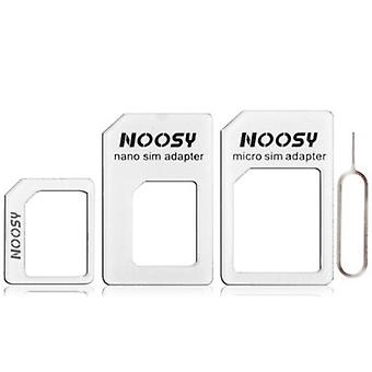 4 en 1 Card Tray Holder Kit pour Apple iPhone 5/4/4S White Accessories Cards Holder Femme