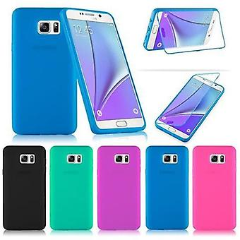 Cadorabo Case for Samsung Galaxy NOTE 5 Case Cover - TPU Silicone Protective Case - Full Body All-Round Protection Also For Display