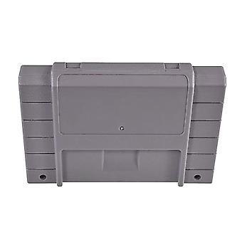 Compatible replacement game cartridge shell case for nintendo snes us version - grey