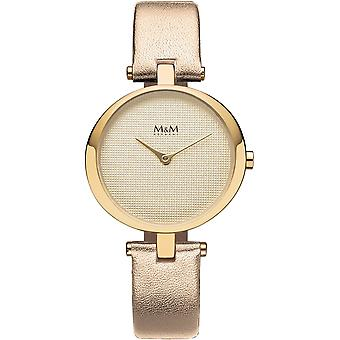 M & M Tyskland M11931-738 ring-O damer klocka