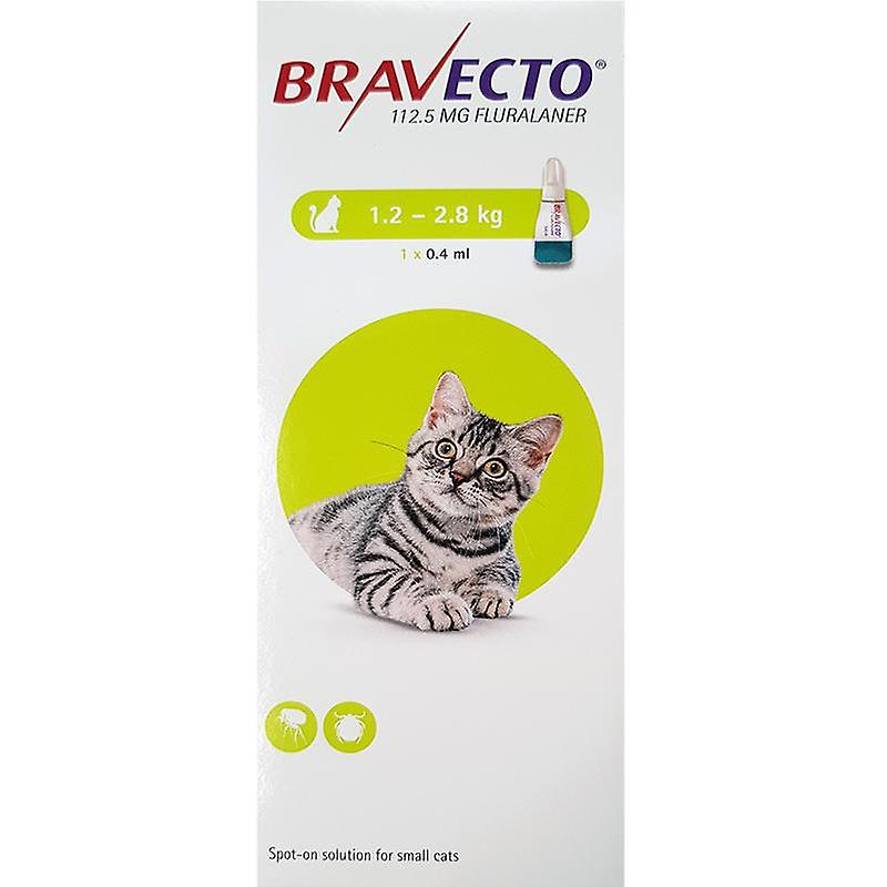 Bravecto Topical For Cats 3-6 lbs (1.2-2.8 kg)