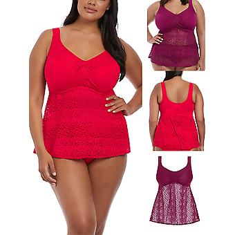 Indie Twist Front Tankini Top