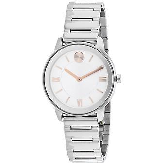Movado Women's Bold Silver Dial Watch - 3600590