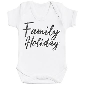Familieferie-matchende sett-baby Body & barne-T-skjorte, mamma & pappa T-skjorte