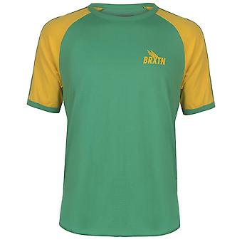 Brixton Mens Gents Lightweight Crew Neck Short Sleeve Raglan T Shirt Tee Top
