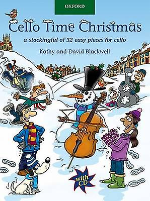 Cello Time Christmas  CD by Kathy Blackwell