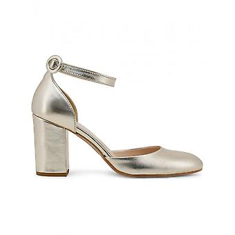 Tillverkad i Italia - Skor - Sandal - INSIEME-PLATINO - Damer - Guld - 39