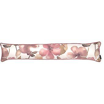 Les textiles Mcalister rougissent rose floral floral excluant de tirant d'eau
