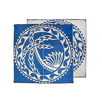 Aa I Faga Pacific Island Samoa Design Recycled Mat