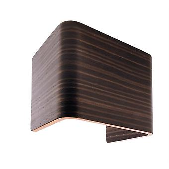 Cover wood grey / brown 125x90x110 mm for Crateris I
