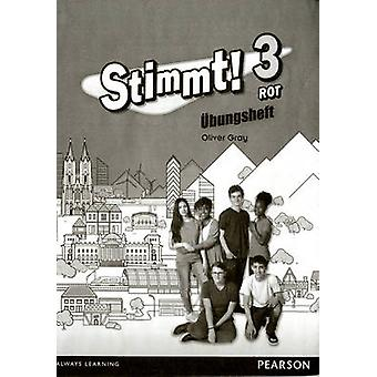 Stimmt 3 Rot Workbook pack of 8