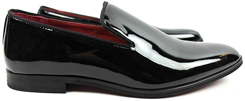 Santino Luciano Tuxedo Patent Loafer