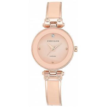 Montre Anne Klein AK-N1980BMRG - Diamant Bracelet Acier Dor� rose Bo�tier Aluminium Dor� rose Femme