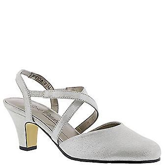 Rose Petals Caliente Women's Sandal 6.5 C/D US Silver