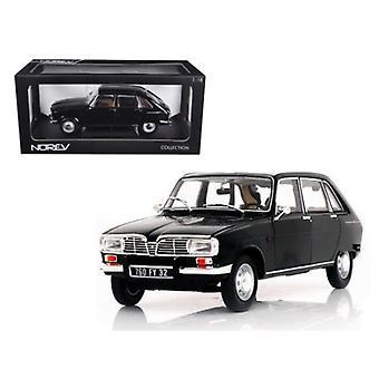 1967 Renault 16 Black 1/18 Diecast Car Model par Norev