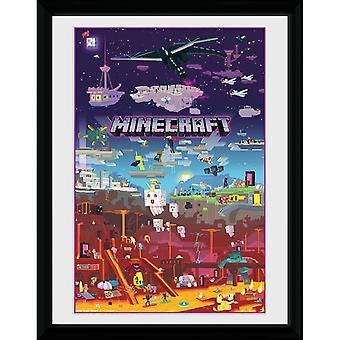Minecraft - Painting, World Beyond