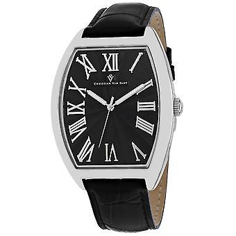 Christian Van Sant Men's Black Dial Uhr - CV0271
